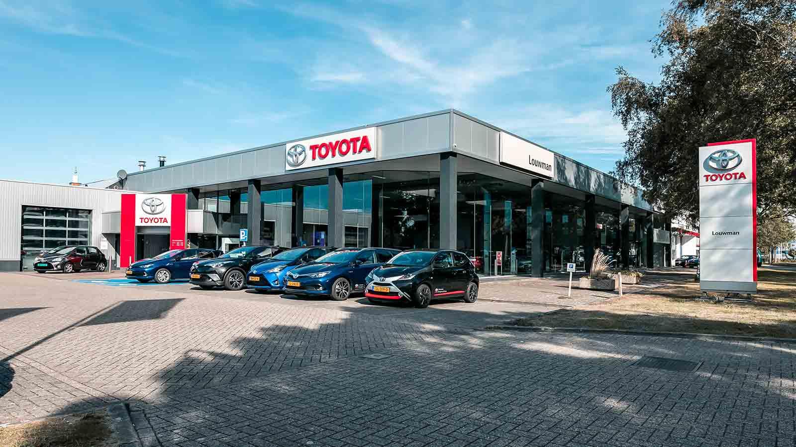 Louwman Toyota Bergen op Zoom